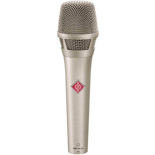 Neumann KMS104 Plus - Handheld Stage Mic (Nickel)