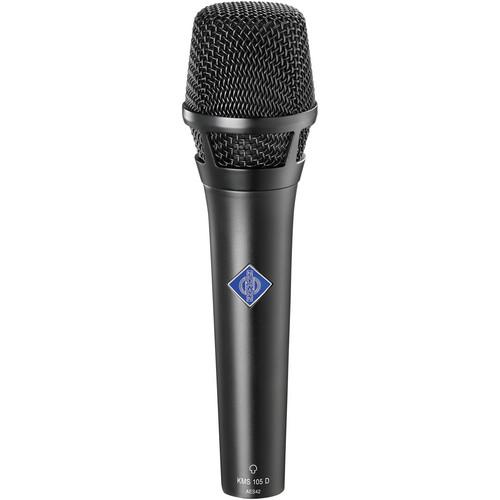 Neumann KMS105D - Digital Handheld Stage Microphone (Black)