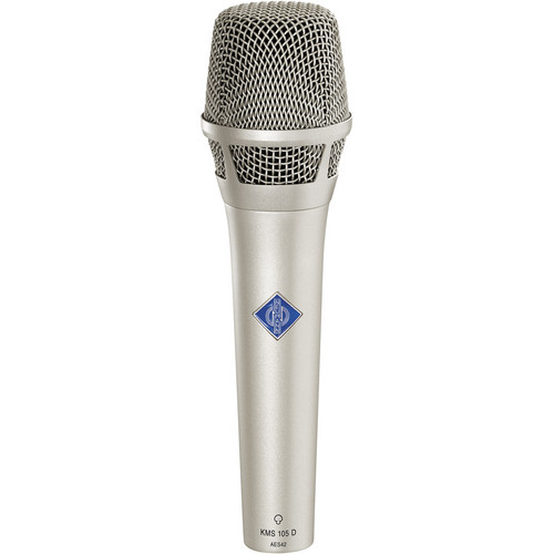Neumann KMS105D - Digital Handheld Stage Microphone (Nickel)