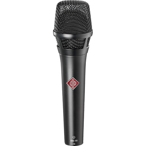 Neumann KMS 105 - Live Vocal Condenser Microphone (Black)