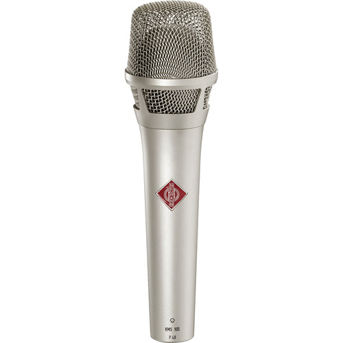 Neumann KMS 105 - Live Vocal Condenser Microphone (Nickel)
