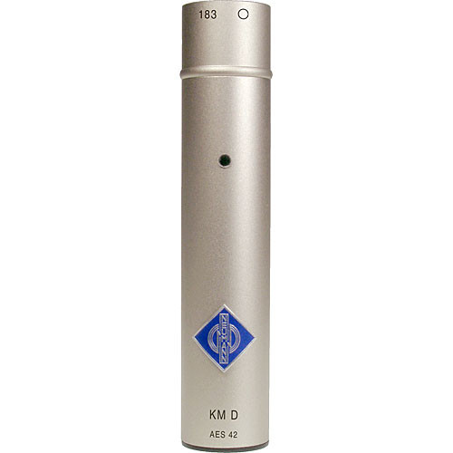 Neumann KM 183D Omnidirectional Digital Microphone (Nickel)