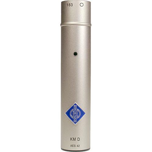 Neumann KM 183D Omnidirectional Digital Microphone (Nickel)
