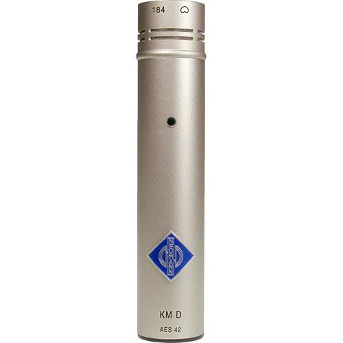 Neumann KM 184 D Small Diaphragm Cardioid Digital Microphone with AES/EBU Output (Nickel)