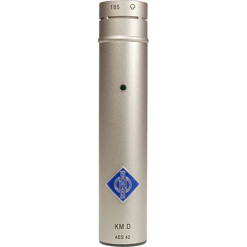 Neumann KM 185 D Small Diaphragm Hypercardioid Digital Microphone with AES/EBU Output (Nickel)