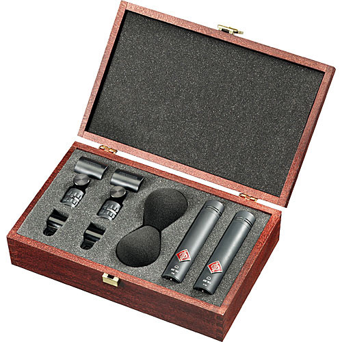 Neumann SKM 185 MT Stereo Matched Microphone Pair (Matte Black)