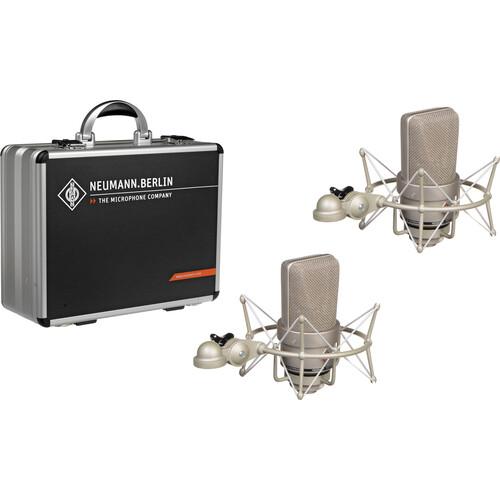 Neumann TLM 103 Large Diaphragm Condenser Microphone (Stereo Set, Nickel)