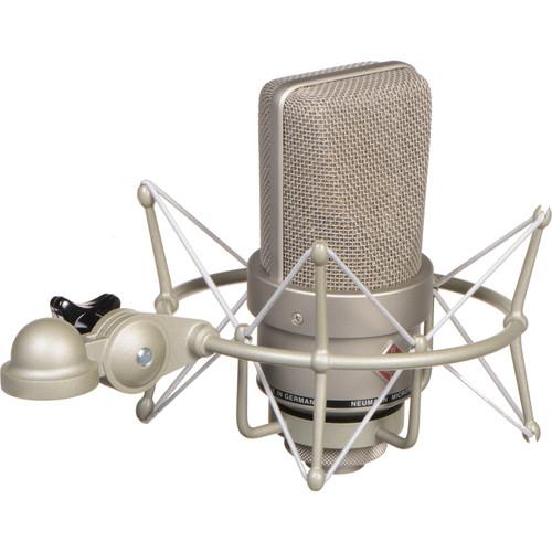Neumann TLM 103 Large-Diaphragm Cardioid Condenser Microphone (Mono Set, Nickel)