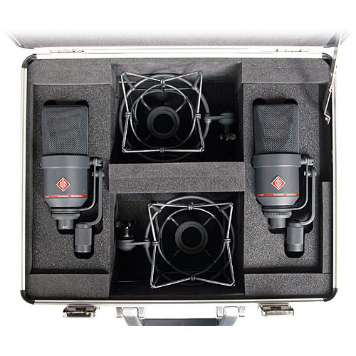 Neumann TLM 170 R Multi-Pattern Large-Diaphragm Studio Condenser Microphone (Stereo Set,<sp> </sp>Black)