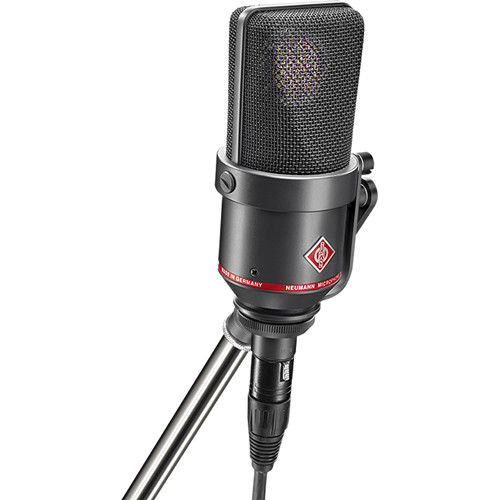 Neumann TLM 170 R Multi-Pattern Large-Diaphragm Studio Condenser Microphone (Black)