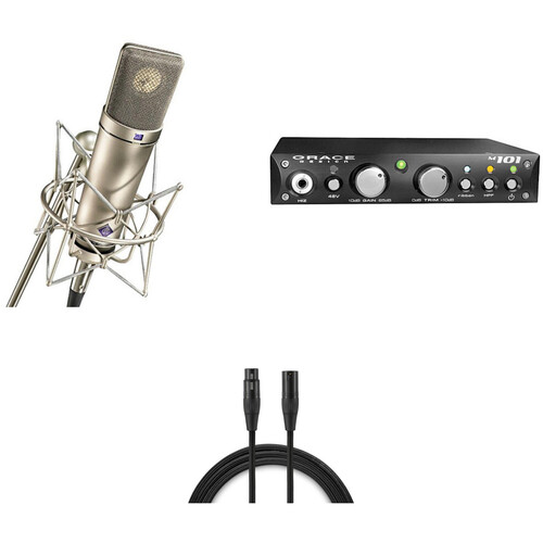 Neumann U 87 Ai Microphone/Grace Design Preamp Bundle