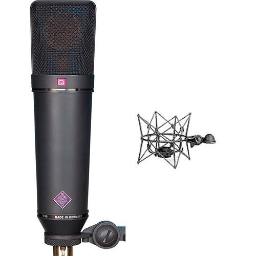 Neumann U 87 Ai MT Large-Diaphragm Multipattern Condenser Microphone (Studio Set, Black)
