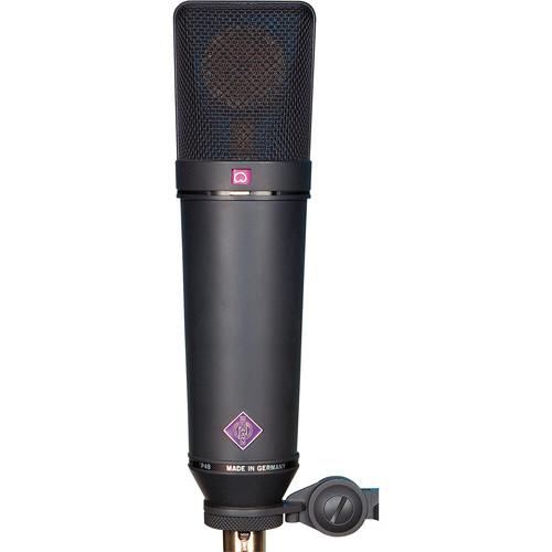 Neumann U 87 Ai MT Large-Diaphragm Multipattern Condenser Microphone (Black)