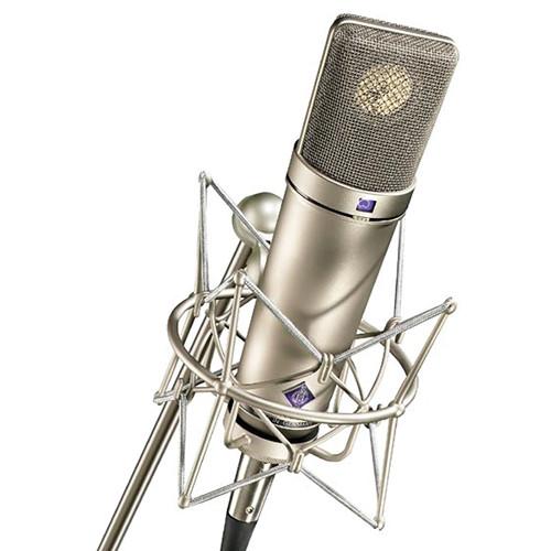 Neumann U 87 Ai Large-Diaphragm Multipattern Condenser Microphone (Studio Set, Nickel)