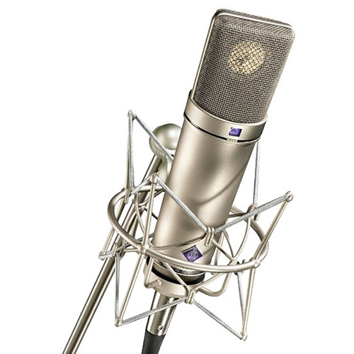Neumann U 87 Ai Condenser Microphone (Studio Set,<sp> </sp>Nickel)