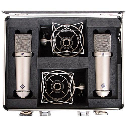 Neumann U 87 Ai Condenser Microphone (Stereo Set,<sp> </sp>Nickel)