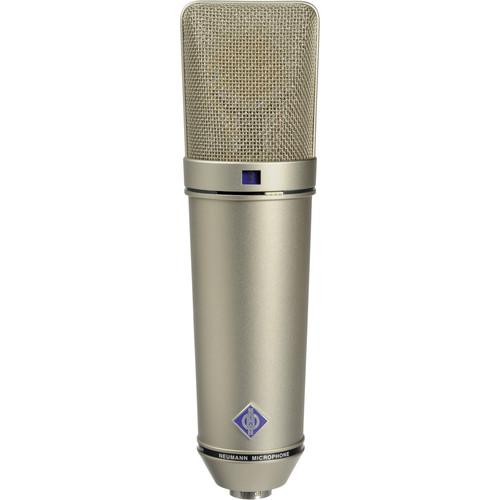 Neumann U 87 Ai Large-Diaphragm Multipattern Condenser Microphone (Nickel)