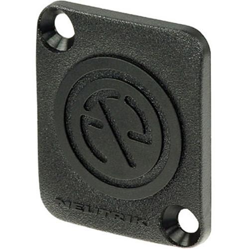 Neutrik DBA-BL Blank Plate (Black)