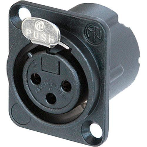 Neutrik NC3FDLXB 3-Pin XLR Female Receptacle