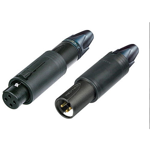 Neutrik NC3FM-C-B convertCON Male/Female Connector