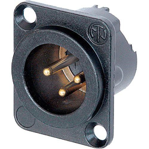 Neutrik NC3MD-LX-B 3-Pin XLR Male Receptacle