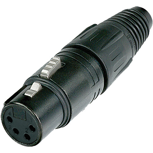 Neutrik NC4FX-B 4-Pin XLR Female Connector