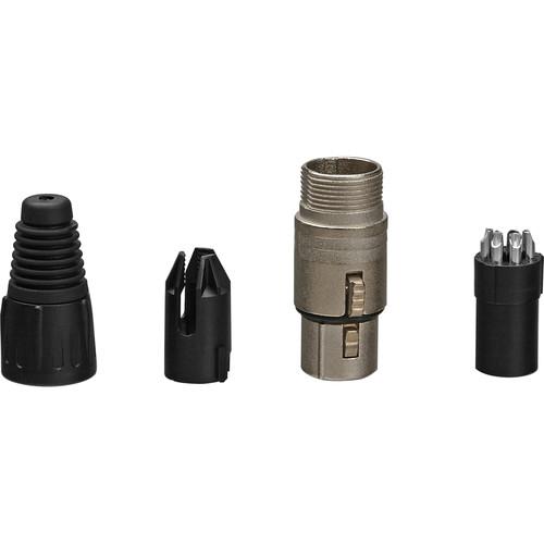 Neutrik NC5FX 5-Pin Female XLR Connector- Silver