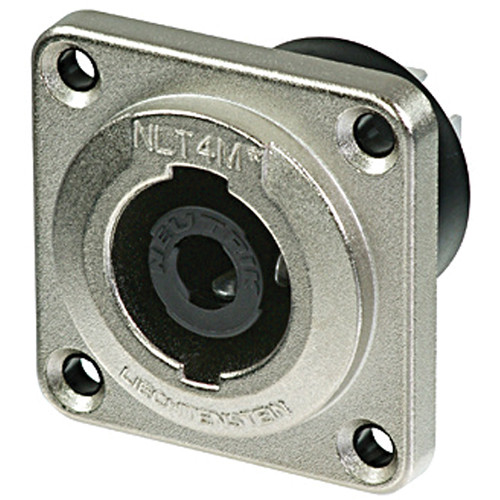 Neutrik NLT4MP SpeakON 4-Pole Male Chassis Connector