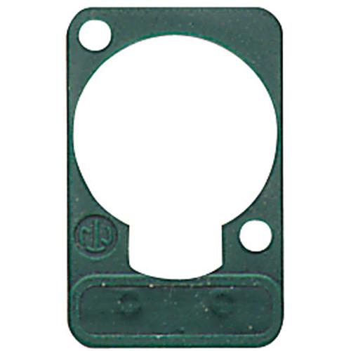 Neutrik DSS Lettering Plate (Green)
