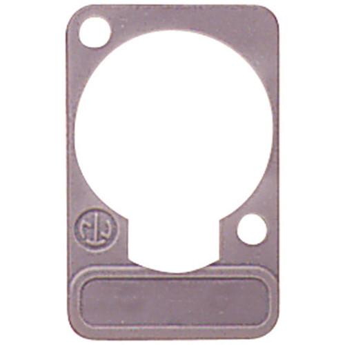 Neutrik DSS Lettering Plate (Gray)