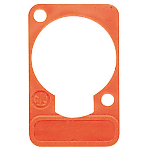 Neutrik DSS Lettering Plate (Orange)