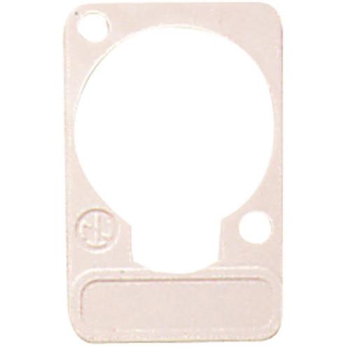 Neutrik DSS Lettering Plate (White)