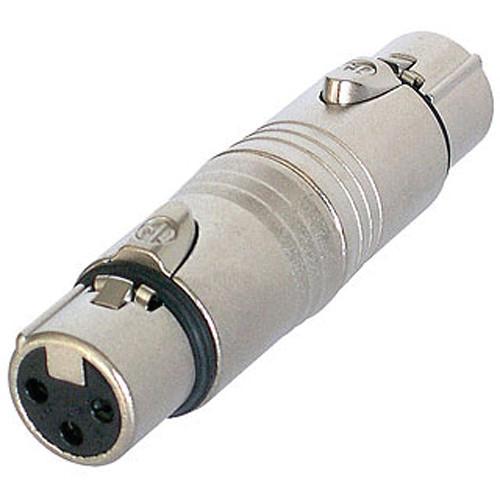 Neutrik 3-Pole XLR Female to 5-Pole XLR Female Gender Conversion Adapter