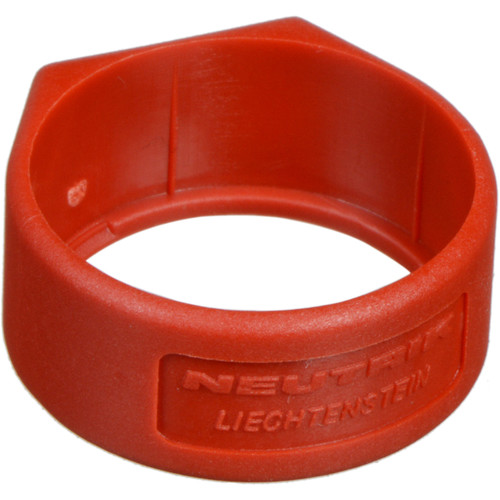 Neutrik XCR Colored Ring (Red Finish)