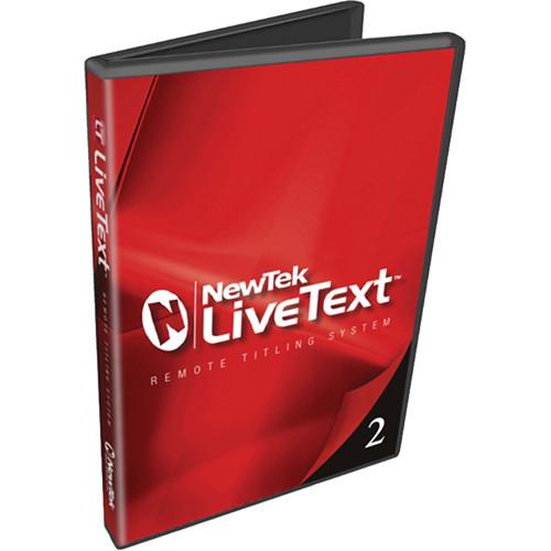 NewTek LiveText 2 Remote Titling Software