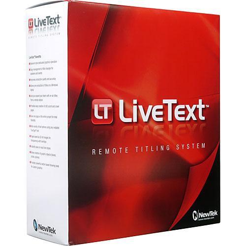 NewTek LiveText 2 Upgrade from LiveText 1 or Datalink