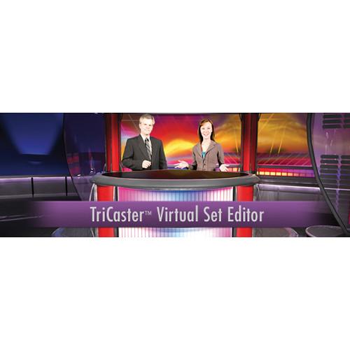 NewTek NewTek TriCaster Virtual Set Editor