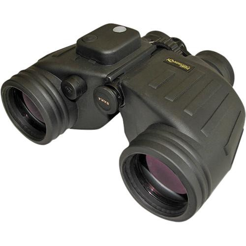 Newcon Optik 7x50 AN MC Military Binocular with Compass & Reticle