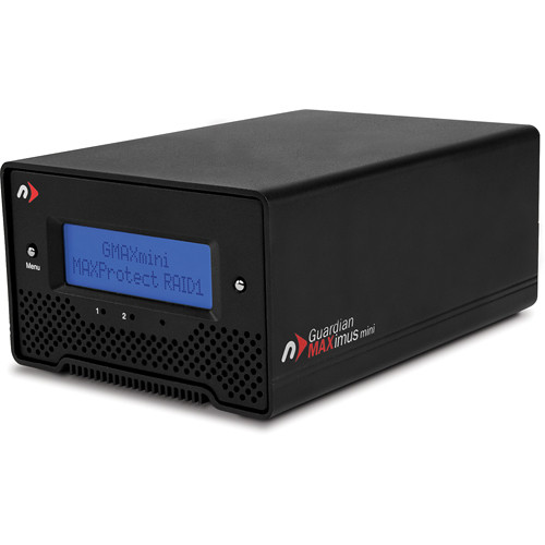NewerTech Guardian MAXimus mini 2TB (2 x 1TB) Two-Bay eSATA RAID Array