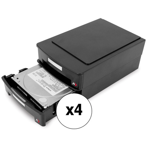 "NewerTech 4 x StoraDrive Anti-Static Cases Kit for 3.5"" Hard Drives Kit"