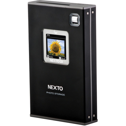 NEXTO DI ND2730G Nexto Photo Storage Portable Backup Drive (500GB HDD)