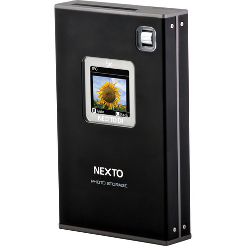 NEXTO DI ND2730G Nexto Photo Storage Portable Backup Drive (750GB HDD)