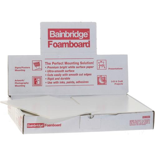 """Nielsen & Bainbridge Foam Core Board - 9 x 12 x 3/16"""" 24 Foam Boards"""