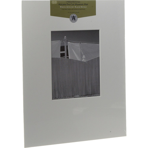 """Nielsen & Bainbridge Mat - Fits Gallery and Presentation Frames, 16x20"""" with 8x10"""" Opening"""