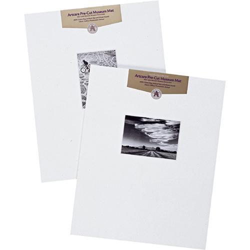 """Nielsen & Bainbridge Mat - Fits Gallery Frame, 16x20"""" Mat with 8x10"""" Opening, Centered"""