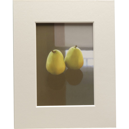 """Nielsen & Bainbridge Mat - Fits Gallery and Presentation Frames, 8x10"""" with 5x7"""" Opening,  Centered"""