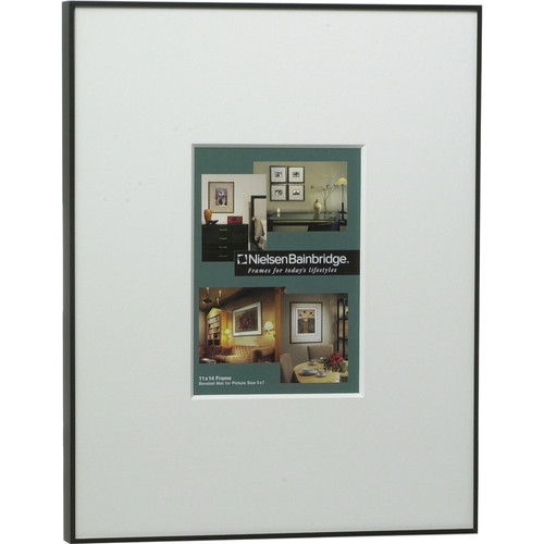 """Nielsen & Bainbridge Photography Collection Frame - 11x14"""" Mat with 5x7"""" Opening"""