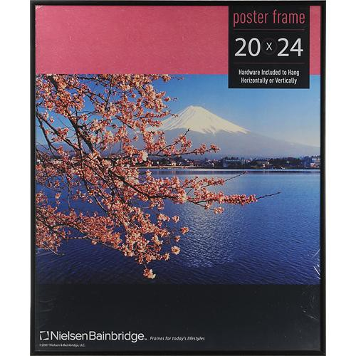"Nielsen & Bainbridge Studio Poster Frame (Fits a 20 x 24"" Image, Black Finish)"