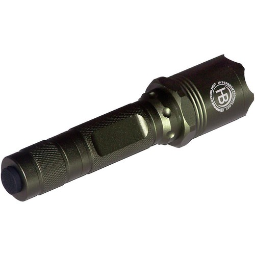 Night Detective HyperBeam Vigour 55 Flashlight (Metallic Green)