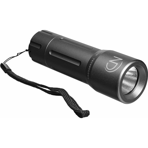 Night Detective Hyper Beam V-45 Flashlight (Silver)
